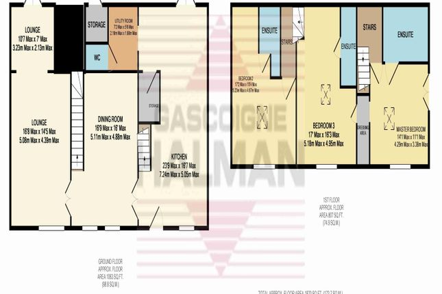 Floor Plan of Back Lane, Ashley, Altrincham WA15