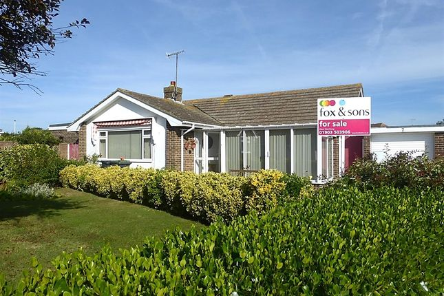 Thumbnail Detached bungalow for sale in Banstead Close, Goring-By-Sea, Worthing