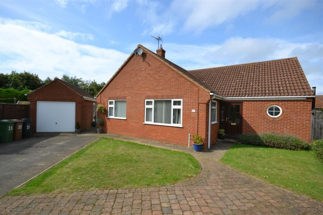 Thumbnail Detached bungalow for sale in Viceroy Close, Dersingham, King's Lynn