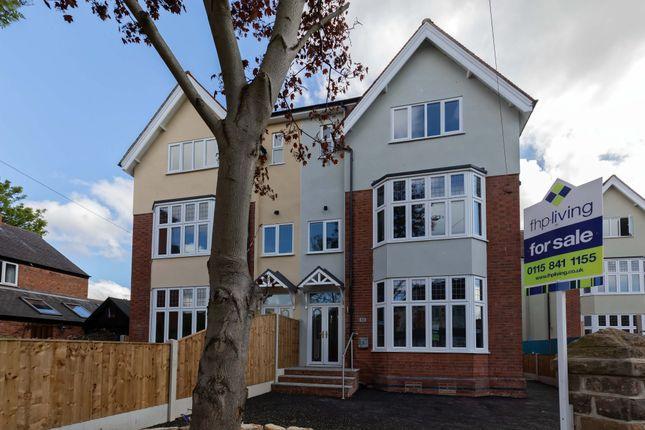 Thumbnail Semi-detached house for sale in Melton Road, West Bridgford, Nottingham