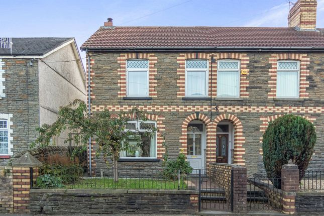 Thumbnail Semi-detached house for sale in Mill Road, Caerphilly