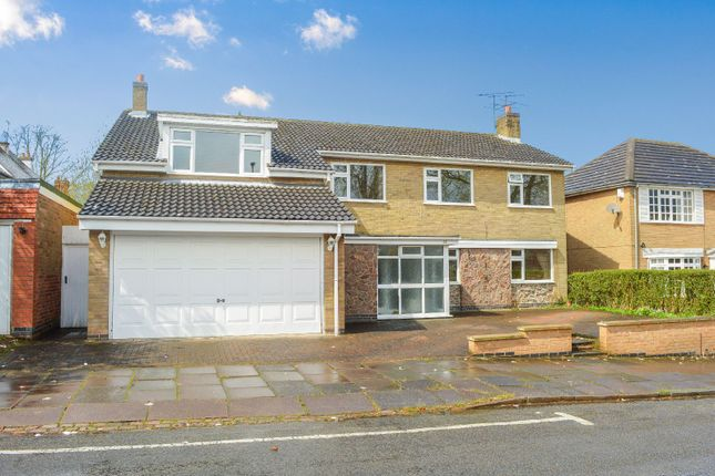 Thumbnail Detached house for sale in Dovedale Road, Stoneygate, Leicester