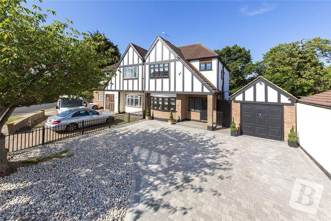 Thumbnail Semi-detached house for sale in Wallenger Avenue, Gidea Park, Essex