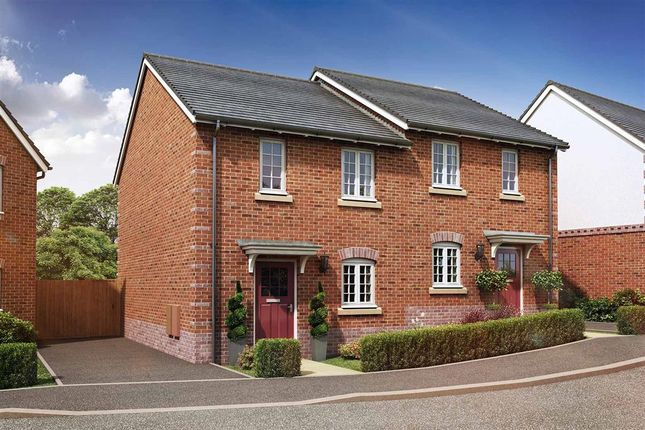 """Thumbnail Semi-detached house for sale in """"The Aspen - Plot 406"""" at Daventry Road, Southam"""