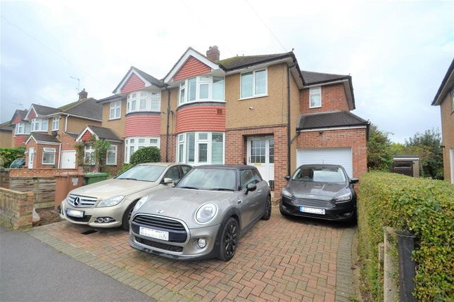 Thumbnail Semi-detached house for sale in Stanwell Gardens, Stanwell Village, Stanwell Village