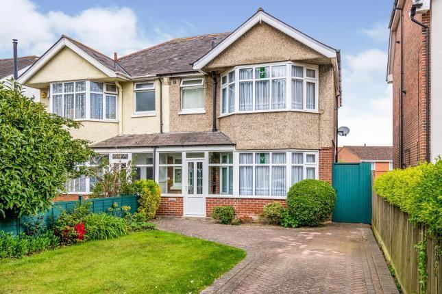 Thumbnail Semi-detached house for sale in Regents Park, Southampton, Hampshire