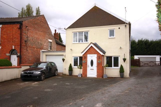 Thumbnail Detached house for sale in Cemetery Road, Weston, Crewe