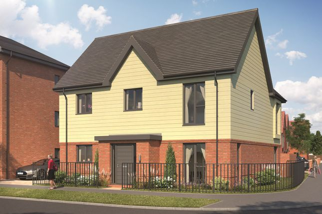 """Thumbnail Detached house for sale in """"Burnham"""" at Old Wokingham Road, Crowthorne"""