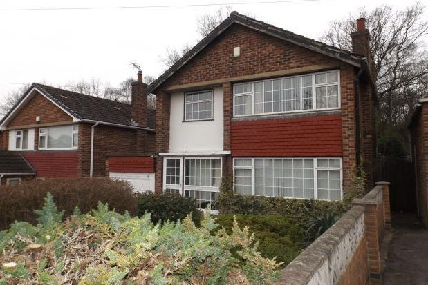Thumbnail Detached house to rent in Brownlow Drive, Nottingham