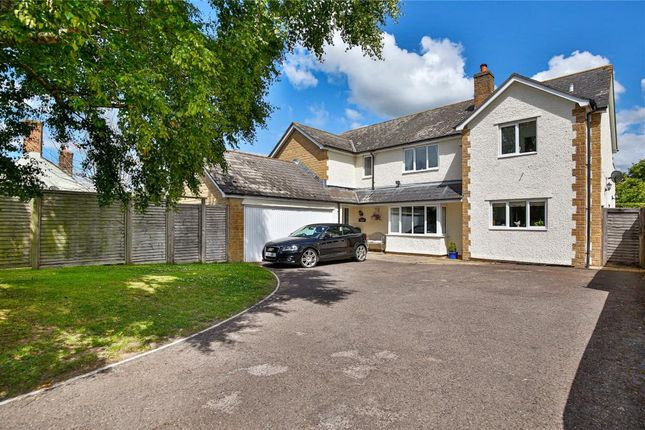 Thumbnail Detached house for sale in Blagdon Hill, Taunton, Somerset