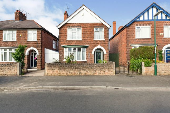 Thumbnail Detached house for sale in Edgware Road, Bulwell, Nottingham