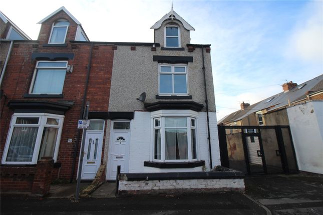 Thumbnail End terrace house to rent in Osborne Road, Hartlepool