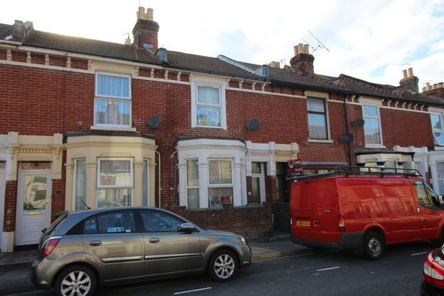 Thumbnail Terraced house to rent in Cardiff Road, Portsmouth