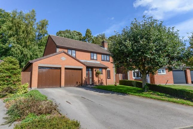Thumbnail Detached house for sale in Thornhill Drive, Madeley, Crewe