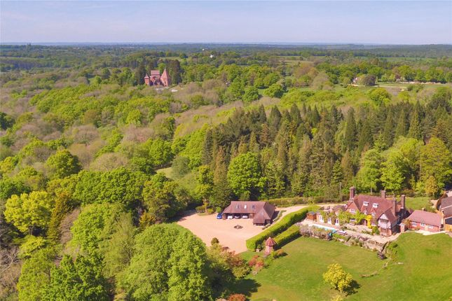 Aerial View of Faircrouch Lane, Wadhurst, East Sussex TN5