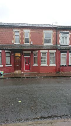 Thumbnail Terraced house to rent in Curzon Road, Salford