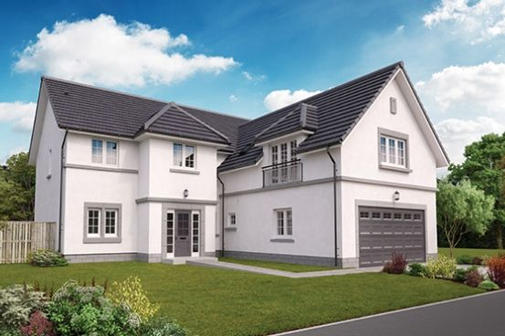 "Thumbnail Detached house for sale in ""The Ranald"" at Milltimber"