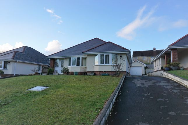Thumbnail Detached bungalow for sale in Clos Erw Werdd, Cross Hands, Llanelli