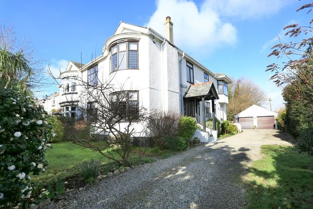 Thumbnail Semi-detached house for sale in Hartley Park Gardens, Hartley, Plymouth