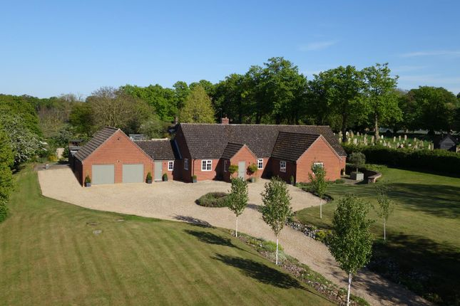 Thumbnail Detached bungalow for sale in Church Lane, Barnham, Thetford
