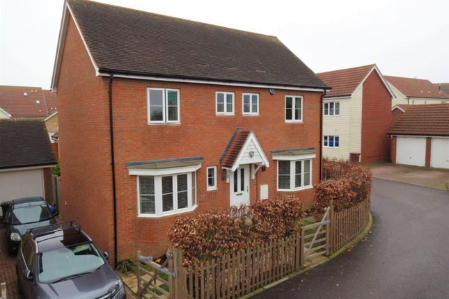 Thumbnail Detached house to rent in The Fields, Hoo, Rochester