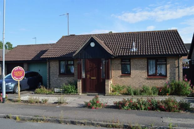 Thumbnail Detached bungalow for sale in Damson Dell, Little Billing, Northampton