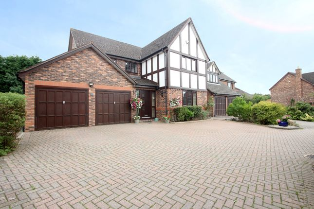 Thumbnail Detached house for sale in Saracen Drive, Balsall Common, Coventry