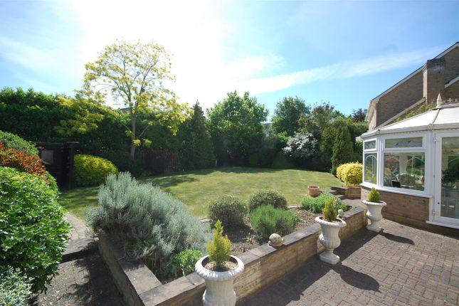 Side View Garden of Mallow Walk, St James Parish, Goffs Oak EN7