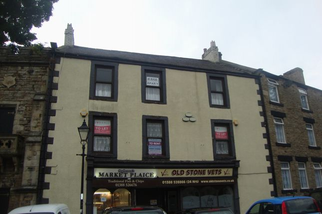 Thumbnail Flat to rent in Market Place, Stanhope, Bishop Auckland