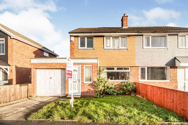 Semi-detached house for sale in Mitford Crescent, Stockton-On-Tees