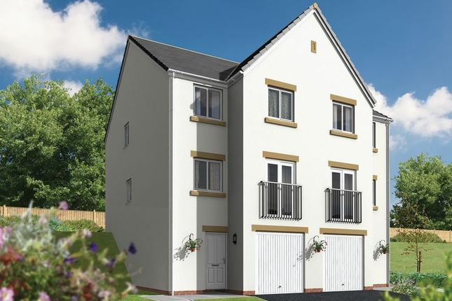 Thumbnail 3 bed semi-detached house for sale in The Talland, Withnoe Farm, Launceston