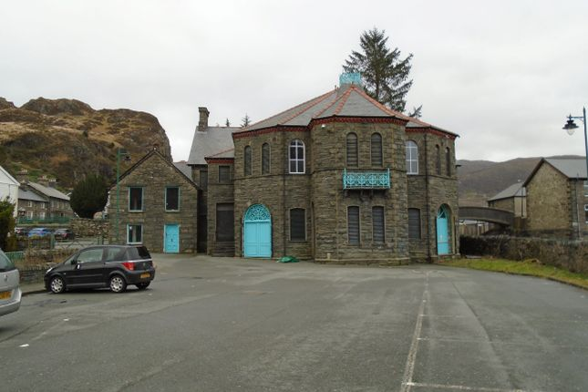 Thumbnail Office for sale in Market Hall, Blaenau Festiniog