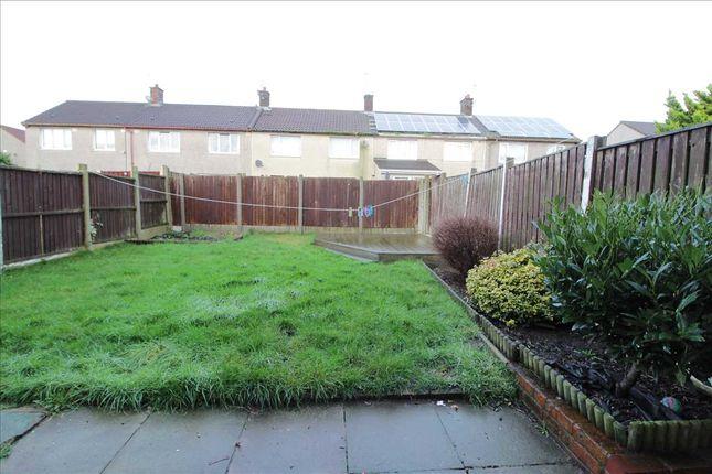 Garden of Birkin Road, Kirkby, Liverpool L32