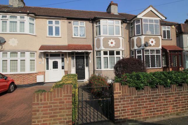 Thumbnail Terraced house to rent in Belgrave Avenue, Gidea Park, Essex