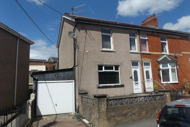 Thumbnail Terraced house for sale in Pengam Road, Ystrad Mynach, Hengoed