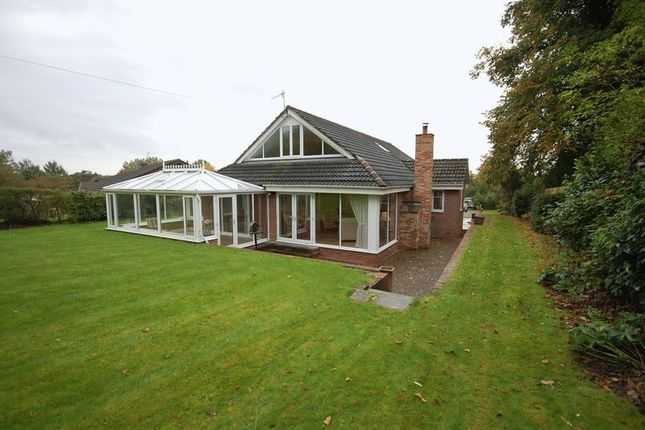 Thumbnail Detached house for sale in Woodside, Morpeth