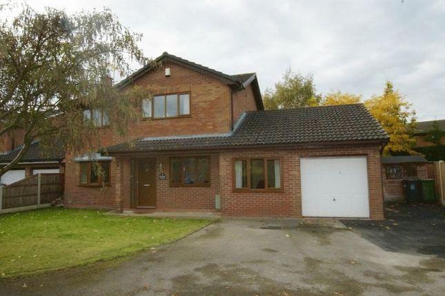 Thumbnail Detached house for sale in Grange Court, Cross Lanes, Wrexham