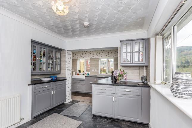 Kitchen of Tanybryn, Mountain Ash, Rhondda Cynon Taff CF45