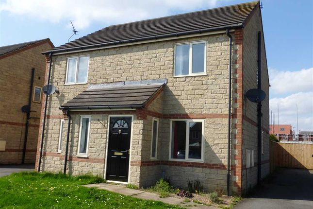 Thumbnail Semi-detached house for sale in Nutwood View, Scunthorpe