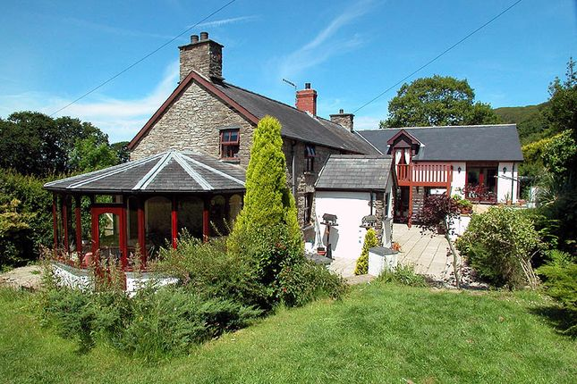 Thumbnail Barn conversion for sale in Taliesin, Machynlleth