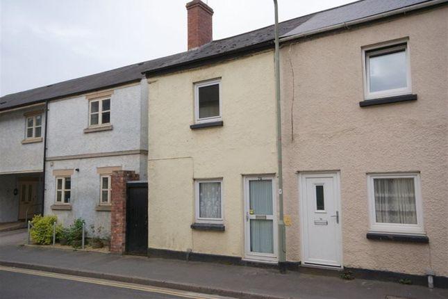Thumbnail Cottage to rent in Bampton Street, Tiverton