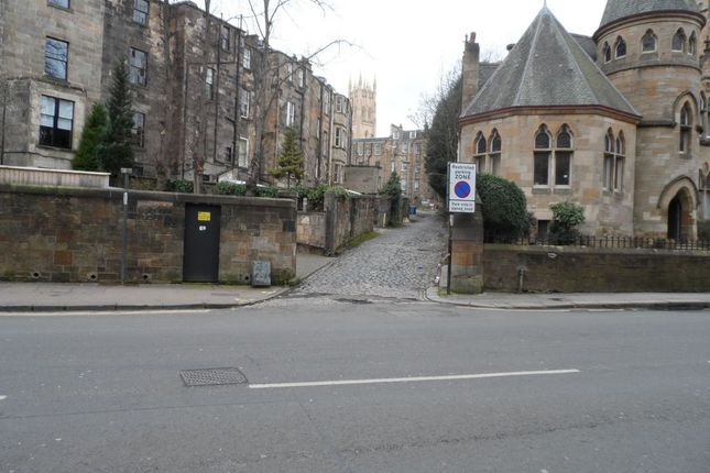 Thumbnail Land for sale in Lynedoch Crescent, Glasgow