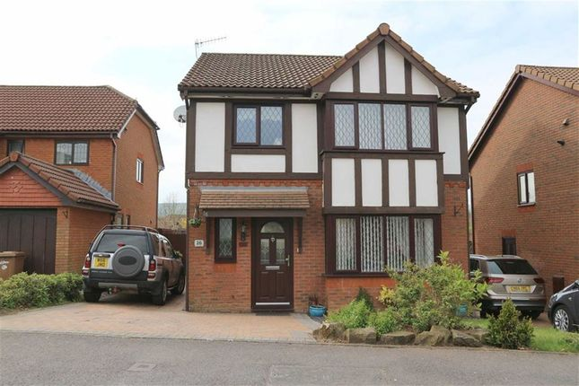 Thumbnail Detached house for sale in Heol-Yr-Ysbyty, Caerphilly