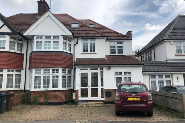 Thumbnail Semi-detached house to rent in South Way, Pinner Harrow