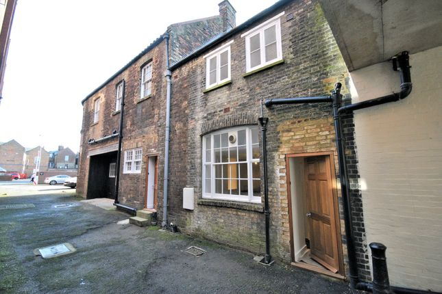 Thumbnail Terraced house for sale in Aickmans Yard, King Street, King's Lynn