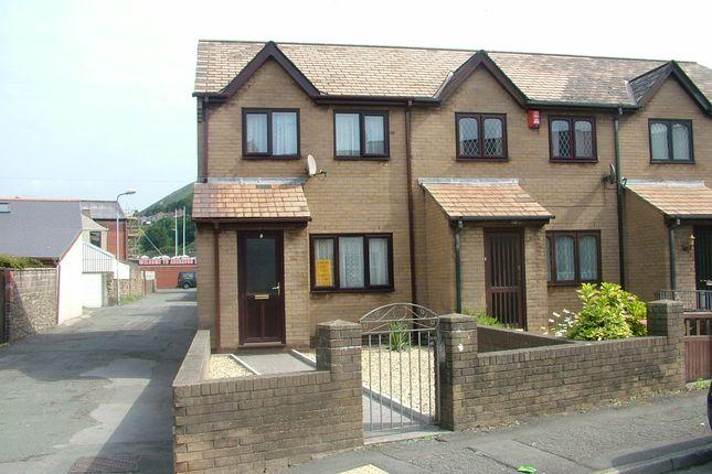 Thumbnail Semi-detached house to rent in Calfaria Close, Port Talbot