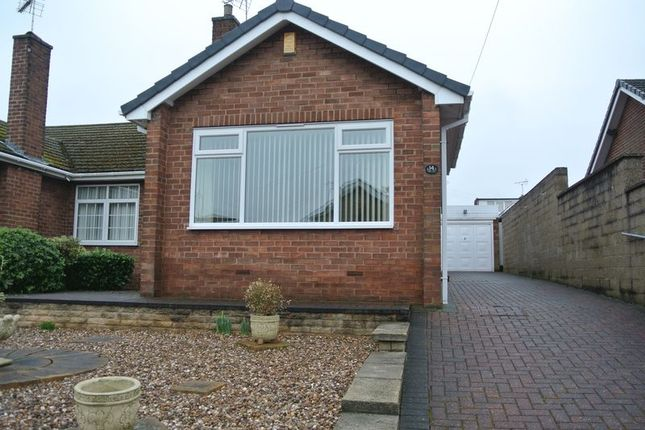 Thumbnail Semi-detached bungalow to rent in West Bank Lea, Mansfield