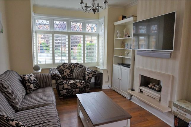Thumbnail End terrace house for sale in Bickley Crescent, Bromley