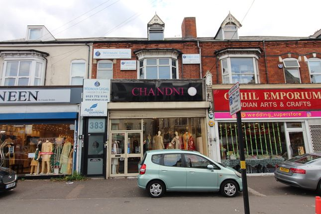Thumbnail Retail premises for sale in Stratford Road, Sparkhill, Birmingham