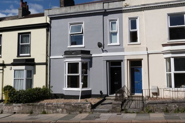 Thumbnail Terraced house for sale in Alexandra Place, Mutley, Plymouth